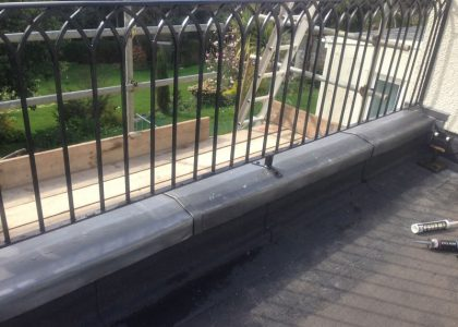 Parapet Lead Work